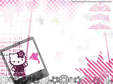 jual border wallpaper hello kitty hello kitty backgrounds for computers wallpaper cave