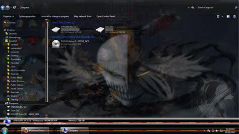 download tema bleach windows 7 download tema anime windows 7