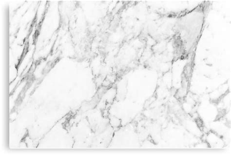 Home Decor Bg by Quot White Marble Print Quot Canvas Prints By Emrapper Redbubble