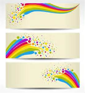 colorful banner colorful banners background free vector in encapsulated