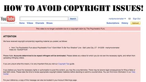 how do i have my own website for free how to avoid copyright strikes and use music in your video