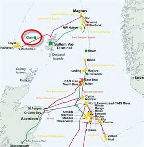 bp and shell prepare greater clair in uk west shetland water