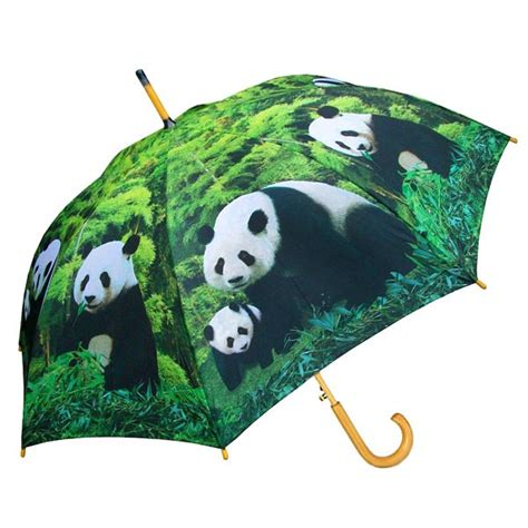 auto open panda umbrella