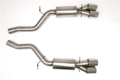 bmw e63 m6 exhaust bmw e63 m6 cat back exhaust system coupe and convertible