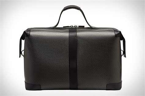 porsche purse porsche design carbon weekender uncrate