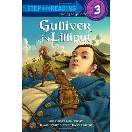 libro reading training gullivers gulliver in lilliput step into reading 3 english wooks