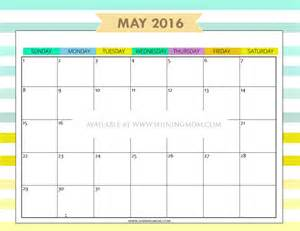 Calendar For May 12 Free Printable Calendars For May 2016