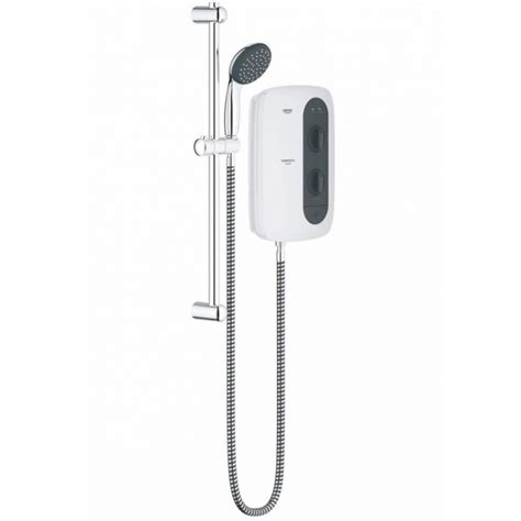 Grohe Electric Showers by Grohe Tempesta 100 Electric Shower 9 5kw Frosted Granite