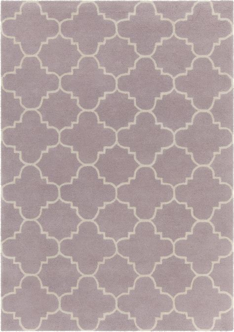 Light Purple Area Rug by Davin Collection Tufted Area Rug In Light Purple White Design B Burke Decor