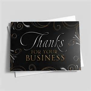 business appreciation cards swirly business thank you business appreciation cards