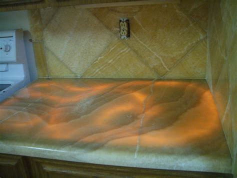 onyx countertops onyx kitchen backsplash