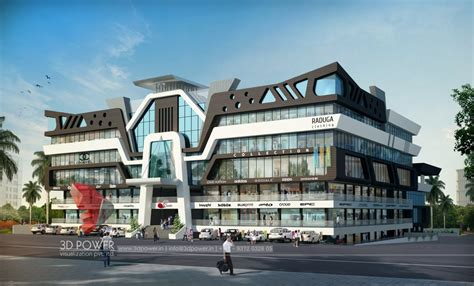 How 3D Architectural Shopping Mall Rendering, Read This