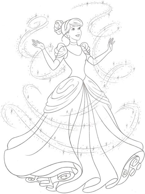 new princess coloring pages disney princess new redesign style guide art by cyndy