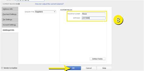 quickbooks complete tutorial free quickbooks tutorials create a custom defined