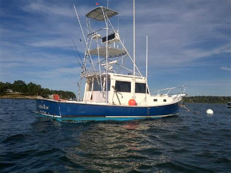 fishing forum boats for sale 32ft holland downeast tuna boat 49k the hull truth