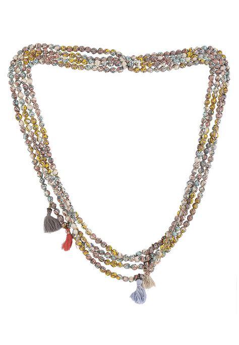 Beaded Layered Necklace beaded layered necklace juf195