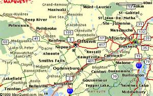 map of ottawa area pictures to pin on pinsdaddy