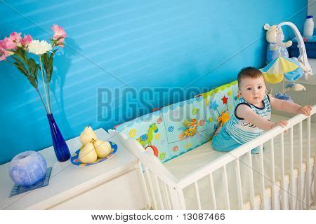 bed for one year old baby boy 1 year old playing in baby bed at children s