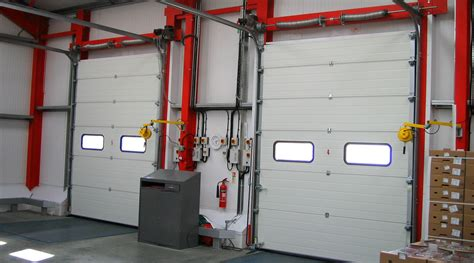 Sectional Overhead Doors Overhead Sectional Doors Security Doors Iemuk Overhead Doors In The Detroit Mi Area