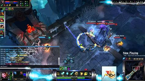 urf game mode league of legends urf mode jayce in howling abyss
