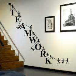 aliexpress com buy free shipping cooperate teamwork wall nursery wall stickers and decor the wall sticker company