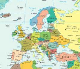 Countries In Europe Map by Map Of Europe Free Large Images