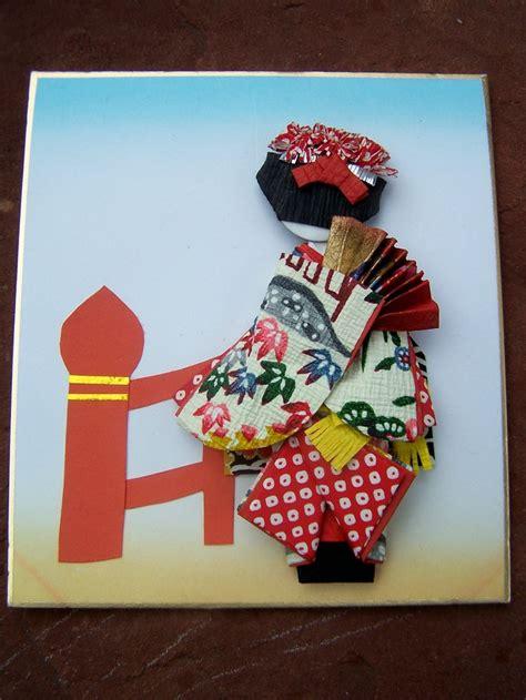 Japanese Paper Craft - 76 best washi ningyo images on geishas paper