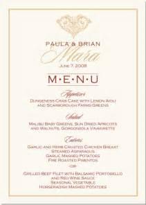 paisley buddhist hindu wedding menu cards indian menu card