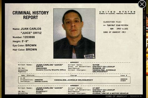 I Want To See My Criminal Record For Free 17 Best Images About Sons Of Anarchy On Sons Of Anarchy Samcro Sons