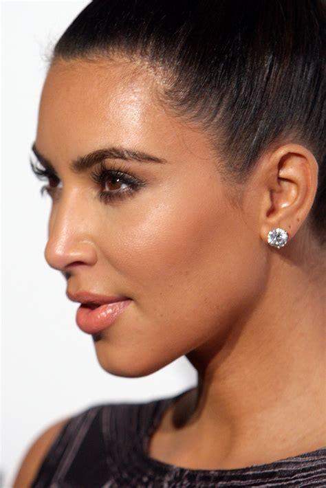kim kardashian lookbook style evolution more pics of kim kardashian diamond studs 22 of 26 kim
