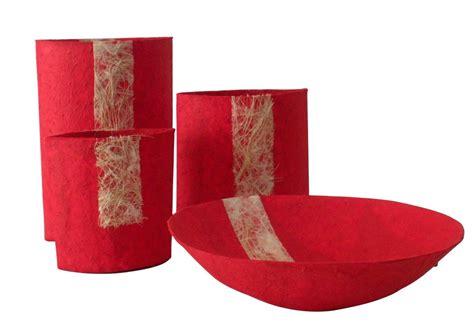 fiori in cartapesta ciotola e vasi in cartapesta vasi e portavasi
