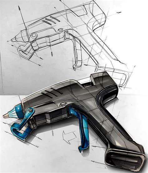 drawing for product designers 1856697436 industrail design sketch marker rendering tutorial on behance sketch markers