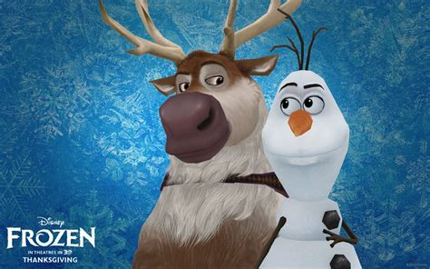 wallpaper frozen sven frozen wallpaper sven and olaf www pixshark com images