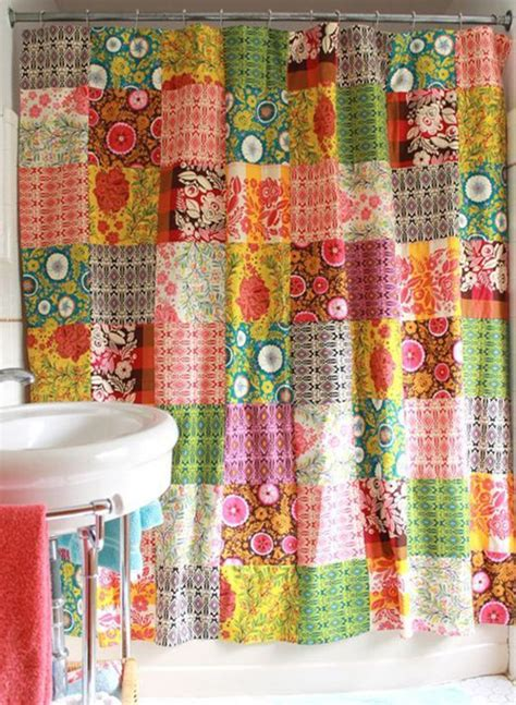 colorful fabric shower curtains colorful fabric shower curtains www imgkid com the