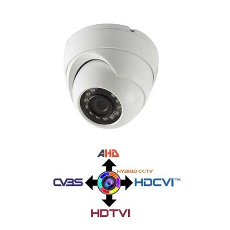 Cctv 2 Megapixel 4in1 1080p mini dome cctv fixed 2 8mm 4in1 hybrid 2 4mpx