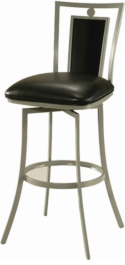 breakfast bar stools sydney sydney swivel barstool cesium silver frame 30