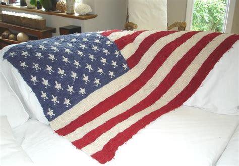 knitting pattern us flag american flag blanket