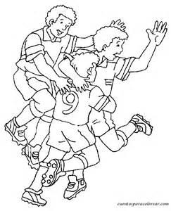 dibujos jugadores futbol colorear az dibujos colorear