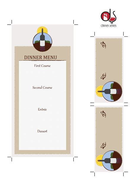 Dinner Place Cards Template by Fantastic Dinner Place Cards Template Images Exle