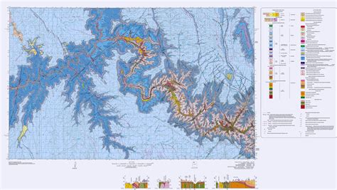 grand maps wildly colorful geologic maps of national parks and how