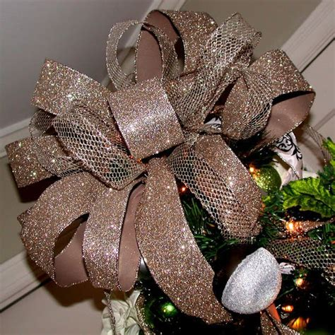 how to make the perfect christmas bow how to make the bow using ribbon skewers