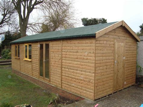 Roof Felt For Sheds by Combination Buildings Mb Garden Building