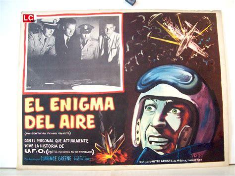 film descifrando el enigma quot el enigma del aire quot movie poster quot unidentified flying