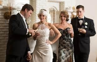 Art Deco Wedding Invitations Sacramento Great Gatsby Style Shoot