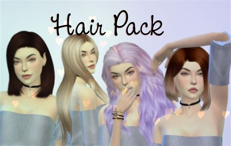 how many packs of hair for medium long box braids the sims 4 hair pack youtube