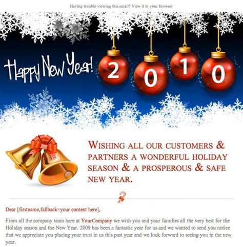 Happy Holidays Email Templates by Happy Email Template Free The Best Free Software
