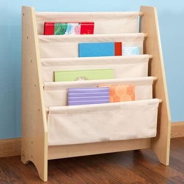 sling bookshelf 14221 by kidkraft kid s