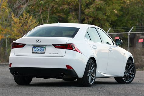 white lexus is 250 2014 2014 lexus is 250 awd f sport quick spin photo gallery