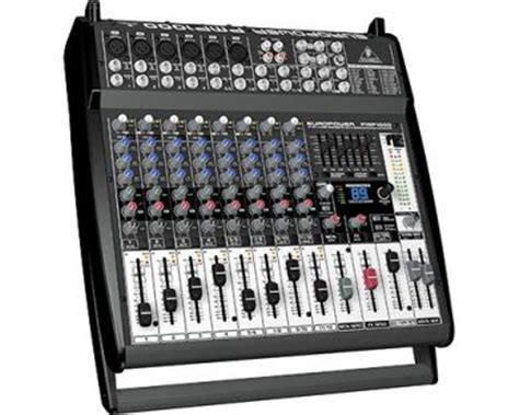 Mixer Behringer Terbaru behringer europower pmp 1000 powered mixer