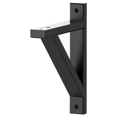 Ekby Shelf Brackets by Ekby Valter Shelf Bracket Black 18 Cm Hallway And